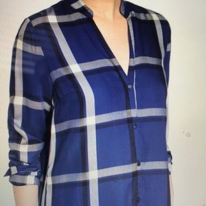 cupcakes & cashmere Tops - Plaid Shirtdress by Cupcakes and Cashmere